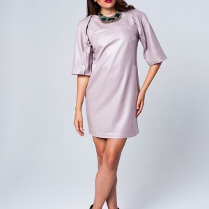Exaggerated Raglan Sleeve Dress
